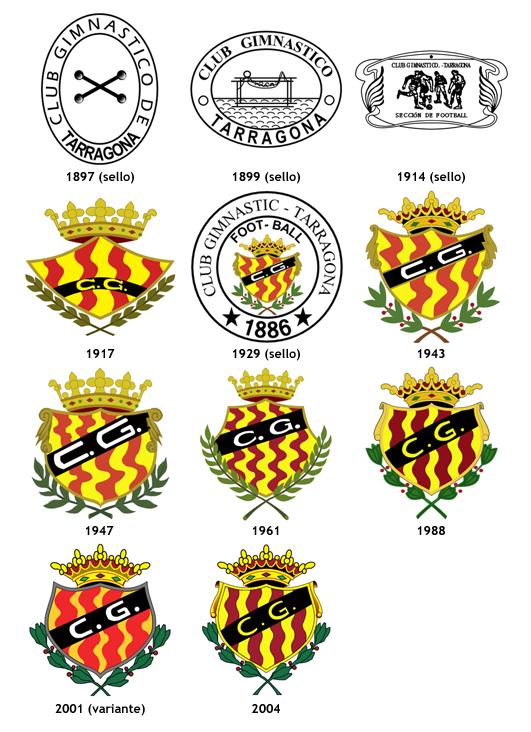 escudos Club Gimnastic de Tarragona