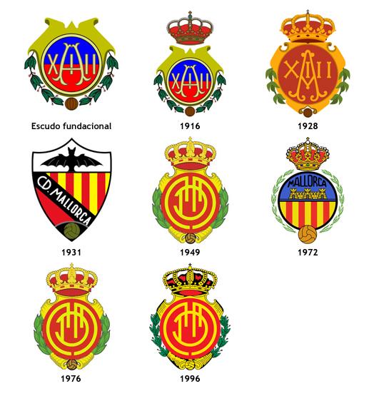 escudos RCD Mallorca