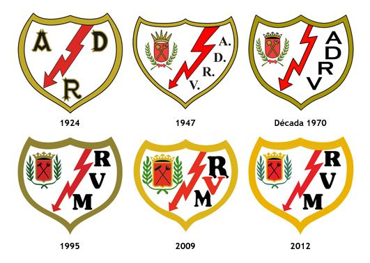 escudos Rayo Vallecano Madrid