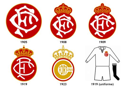 escudos Real Fortuna FC Vigo