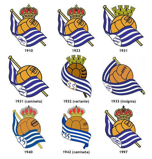 escudos Real Sociedad Futbol