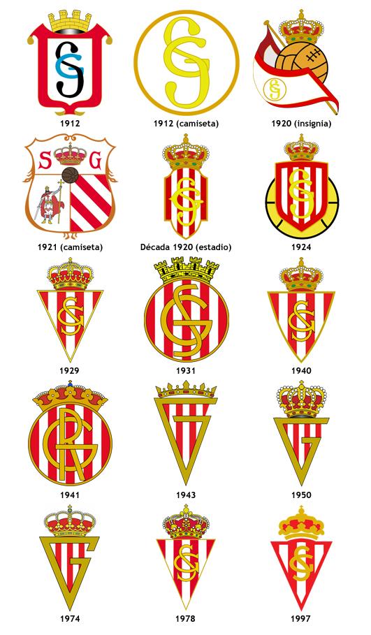 Escudo futbol real sporting gijon la futbolteca - Fotos del sporting de gijon ...