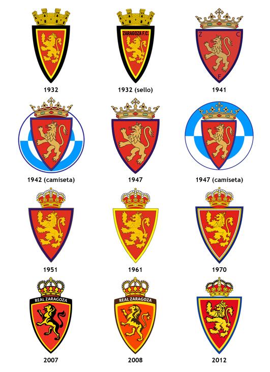 escudos Real Zaragoza