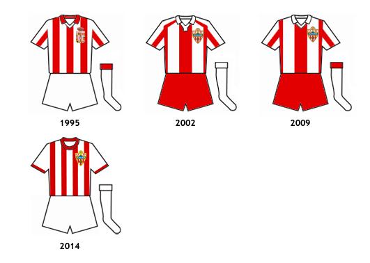 uniformes UD Almeria