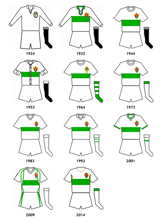 uniformes Elche CF