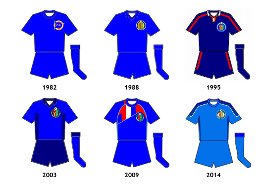 uniformes Getafe CF