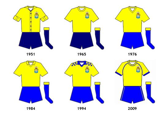 uniformes UD Las Palmas