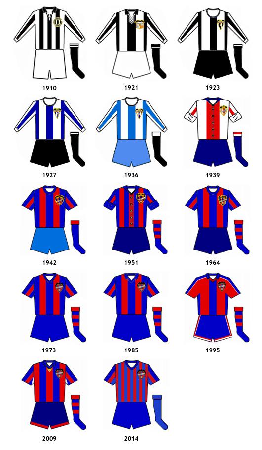 uniformes Levante UD