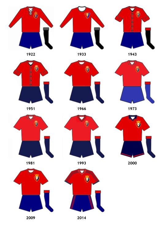uniformes CA Osasuna