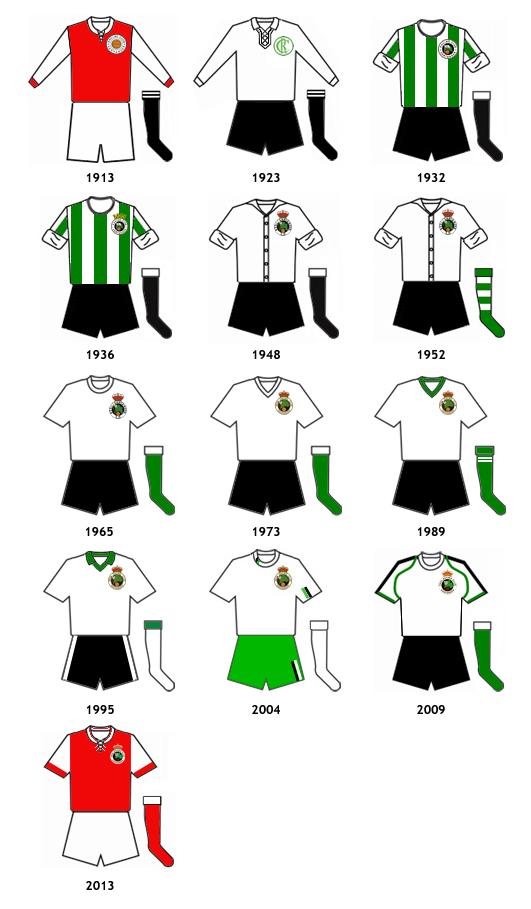 uniformes Real Racing Club Santander