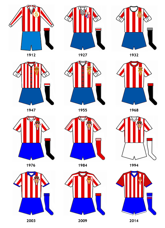 uniformes Real Sporting Gijon