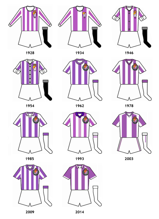 uniformes Real Valladolid CF