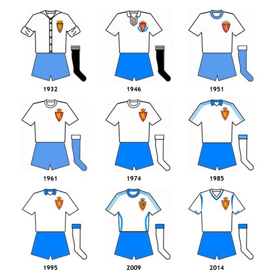 uniformes Real Zaragoza