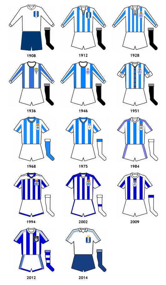 uniformes RC Recreativo Huelva