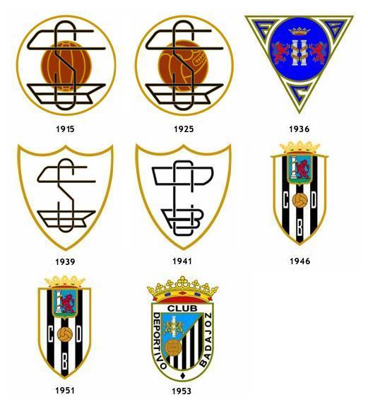 escudos CD Badajoz