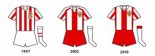 uniformes UD Almeria B