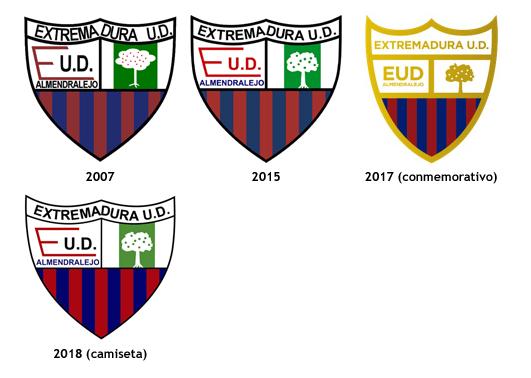 escudos Extremadura Union Deportiva