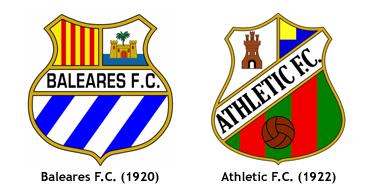 escudos antecesores CD Atletico Baleares