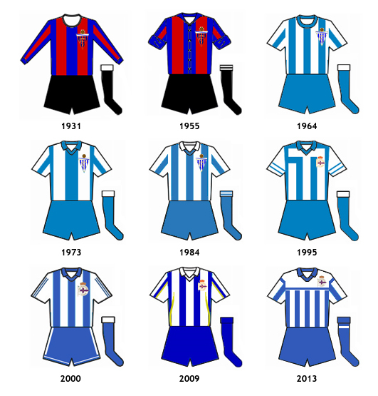 uniformes RC Deportivo Fabril
