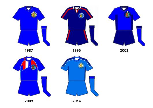 uniformes Getafe CF B