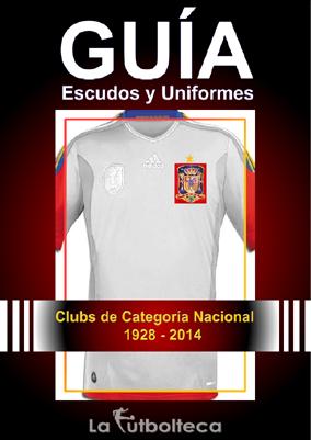 guia escudos uniformes lafutbolteca 2014