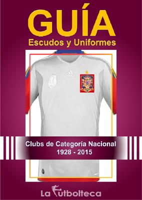 guia escudos uniformes lafutbolteca 2015
