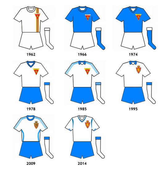 uniformes Real Zaragoza Deportivo Aragon