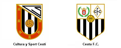 escudos fundadores SD Ceuta