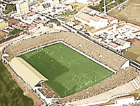 estadio CD Condal Barcelona