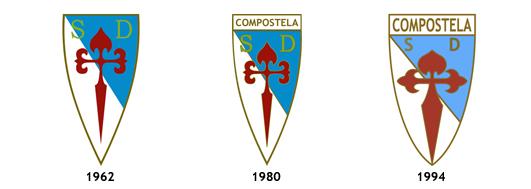 escudos SD Compostela SAD