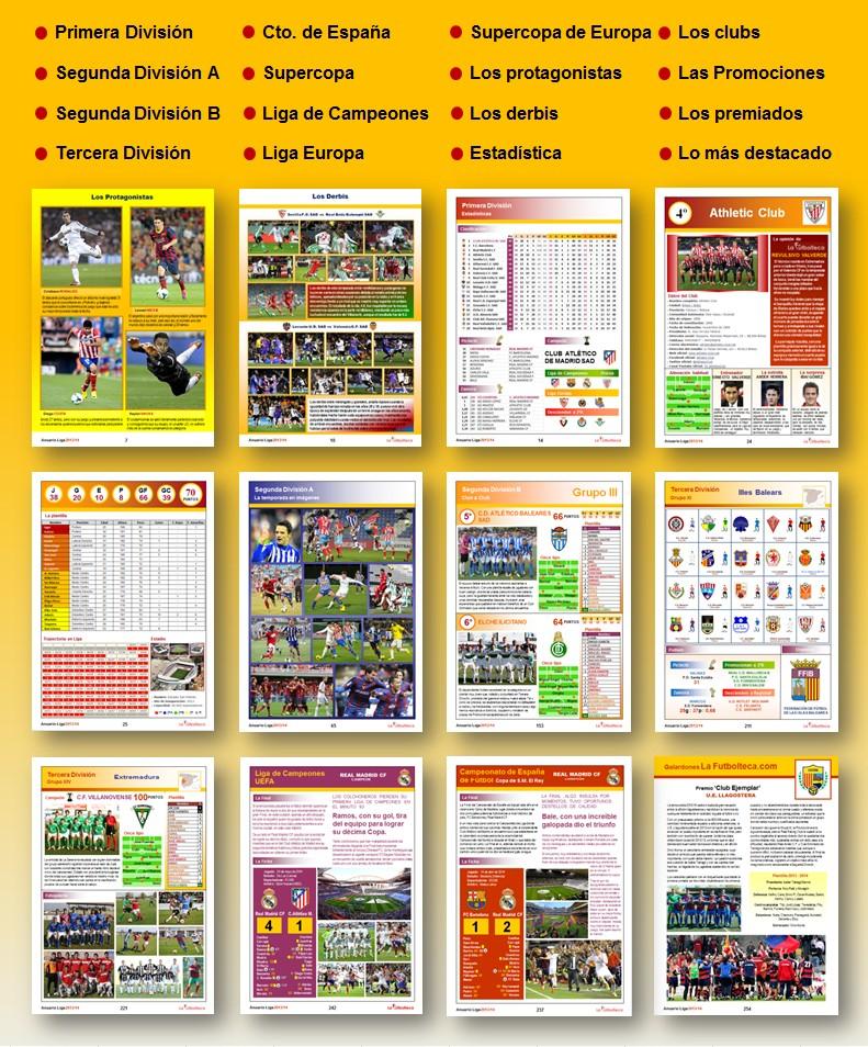 explicacion Anuarios Liga LaFutbolteca