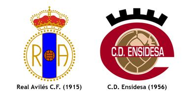 fusion Real Aviles CF y CD Ensidesa 1983