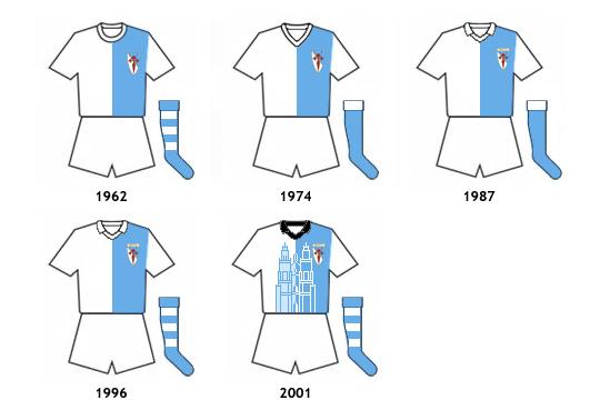 uniformes SD Compostela SAD