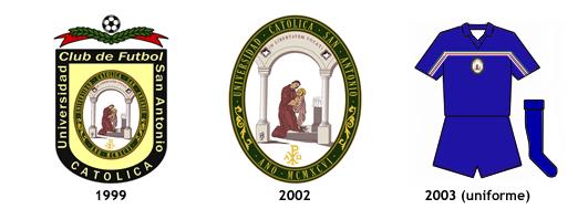 escudos uniformes Universidad Catolica San Antonio de Murcia CF