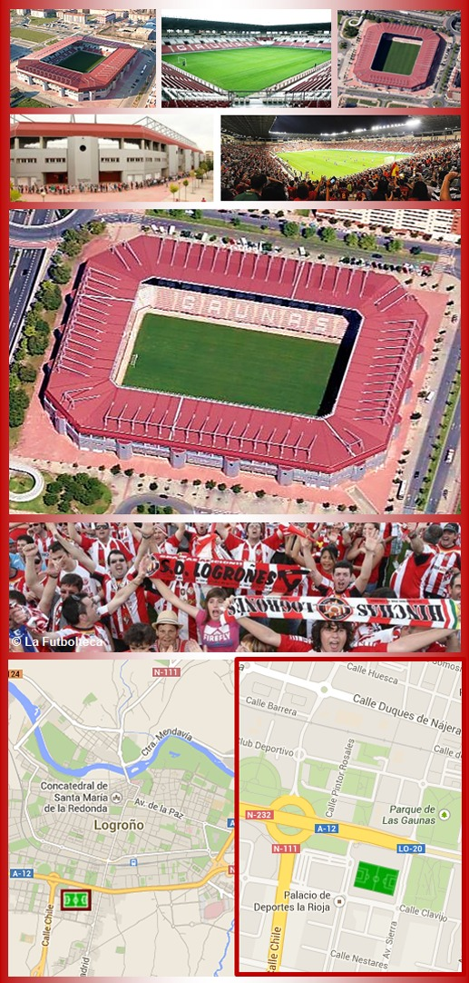 Estadio Las Gaunas S.D. Logroñés