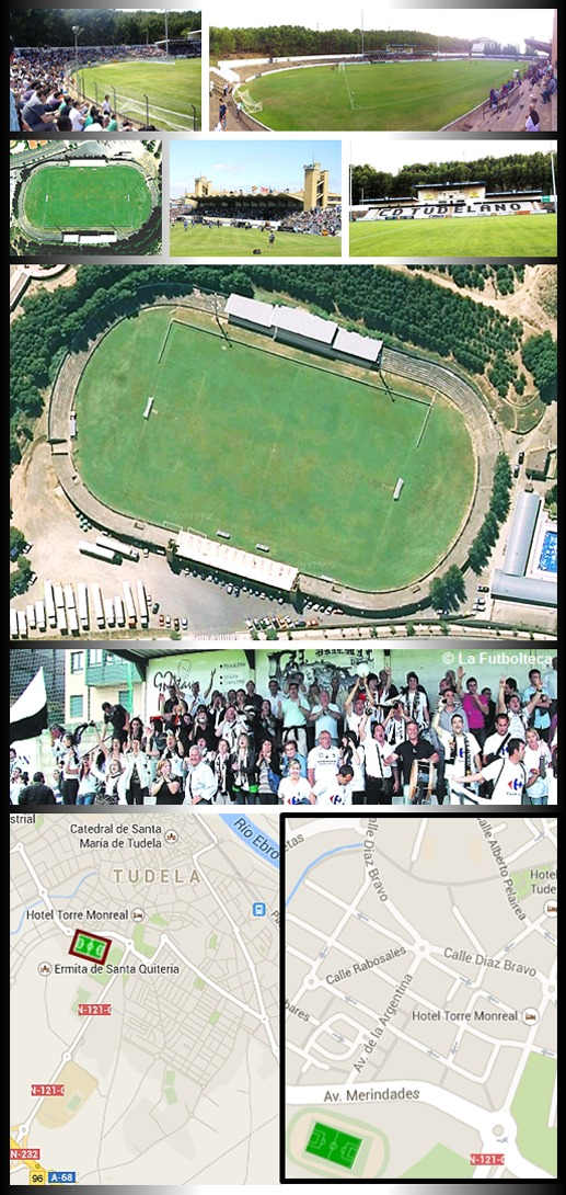 Estadio Ciudad de Tudela CD Tudelano