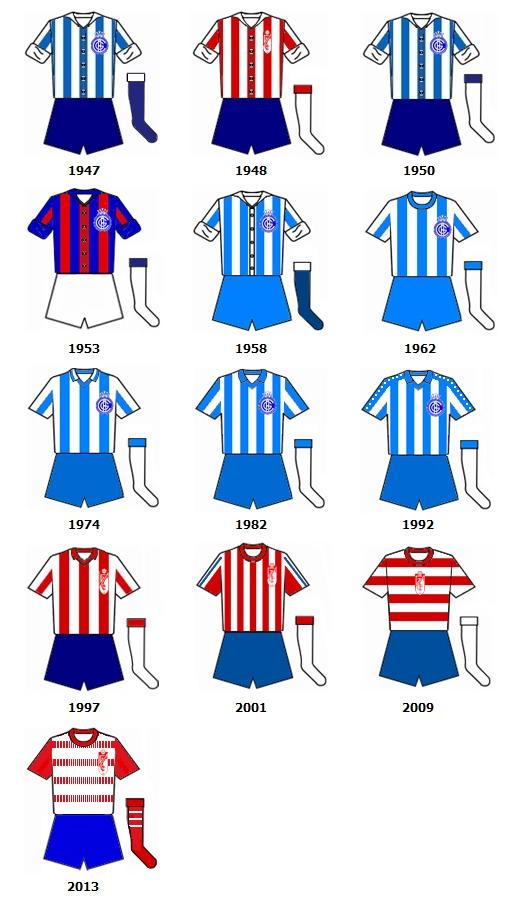 uniformes Granada CF B