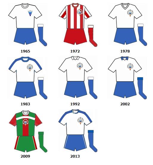 uniformes CD El Palo