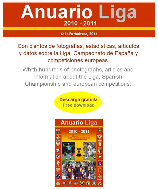 anuncio Anuario Liga 2010-2011