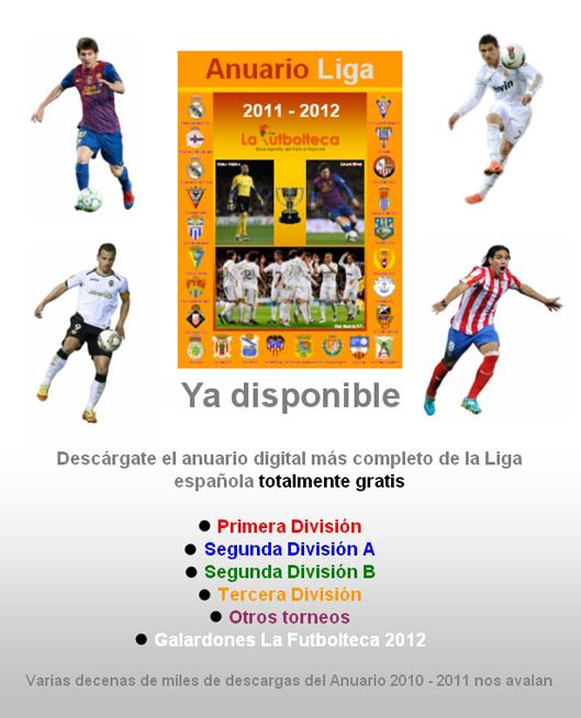 anuncio Anuario Liga 2011-2012