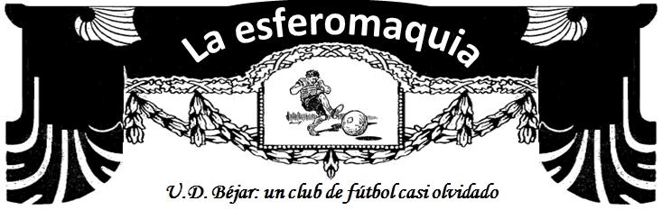 La Esferomaquia UD Bejar titular