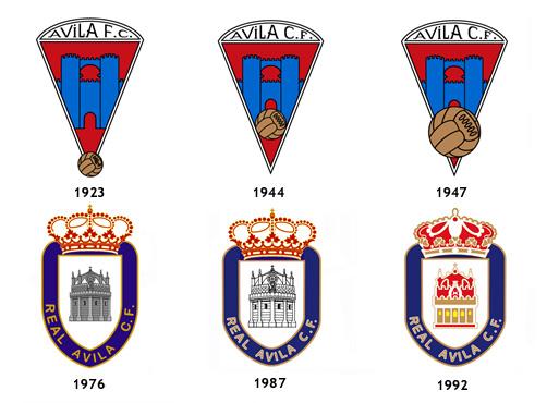 escudos Real Avila CF