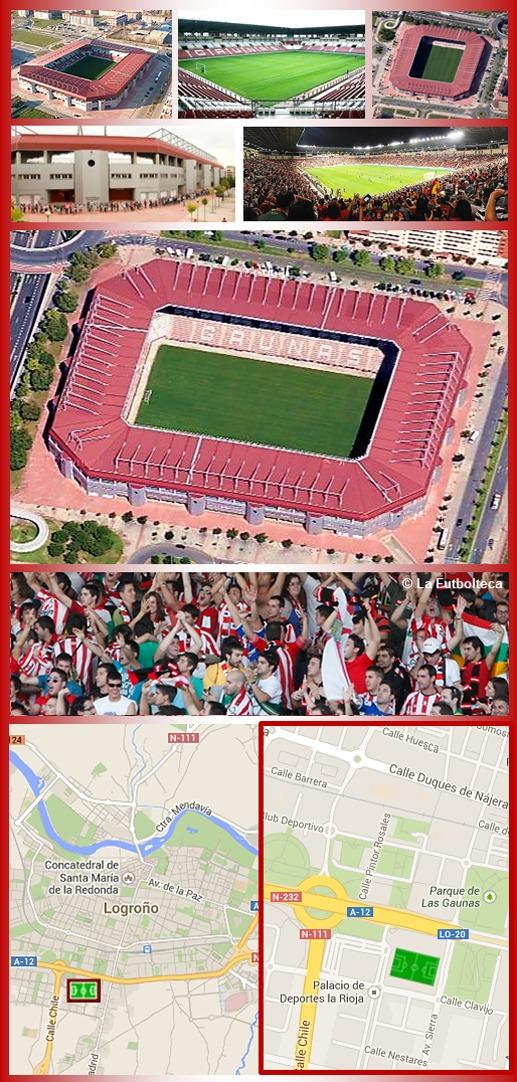 Estadio Las Gaunas C.D. Logroñés