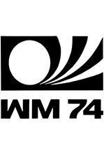 Mundial Alemania Federal 1974 logo