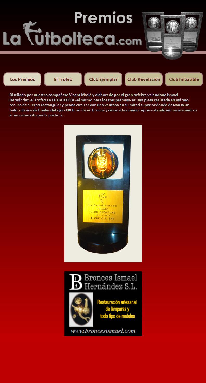 Trofeo Premios La Futbolteca