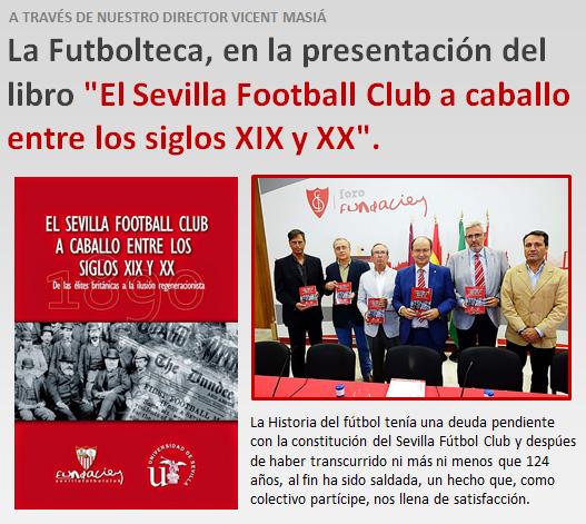 anuncio libro Sevilla FC