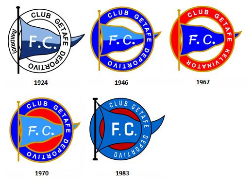 escudos Club Getafe Deportivo