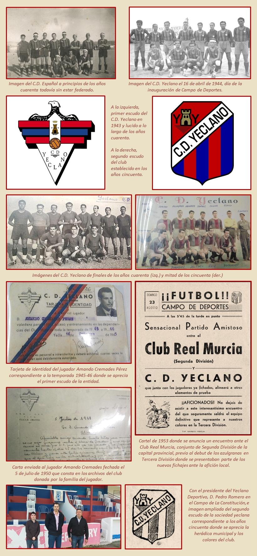 La Esferomaquia El escudo del CD Yeclano 1