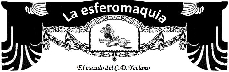 La Esferomaquia El escudo del CD Yeclano