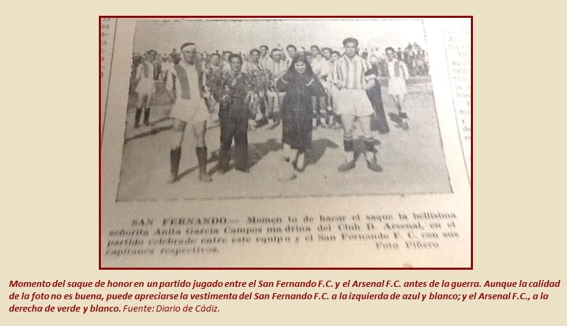 La Esferomaquia Cuestiones fundacion CD San Fernando 1